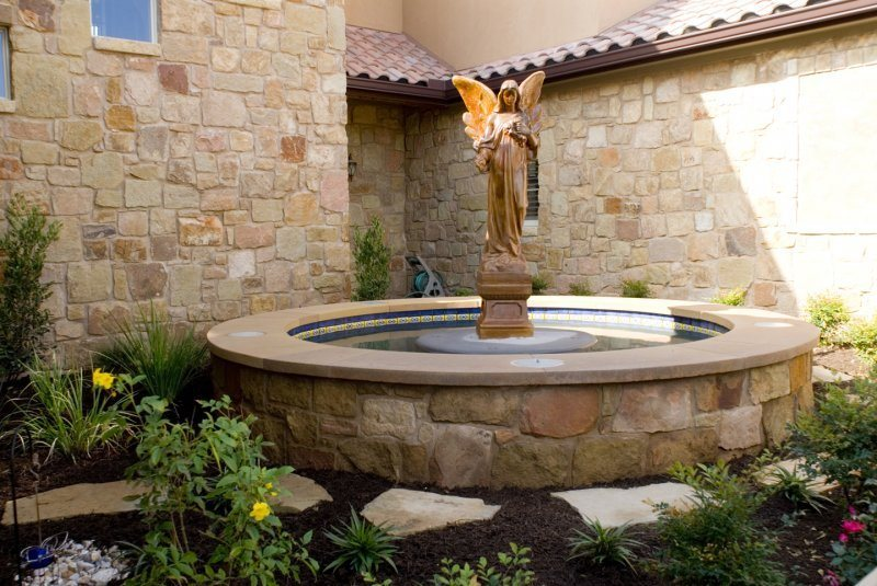 Fountain Austin Tx Photo Gallery Landscaping Network
