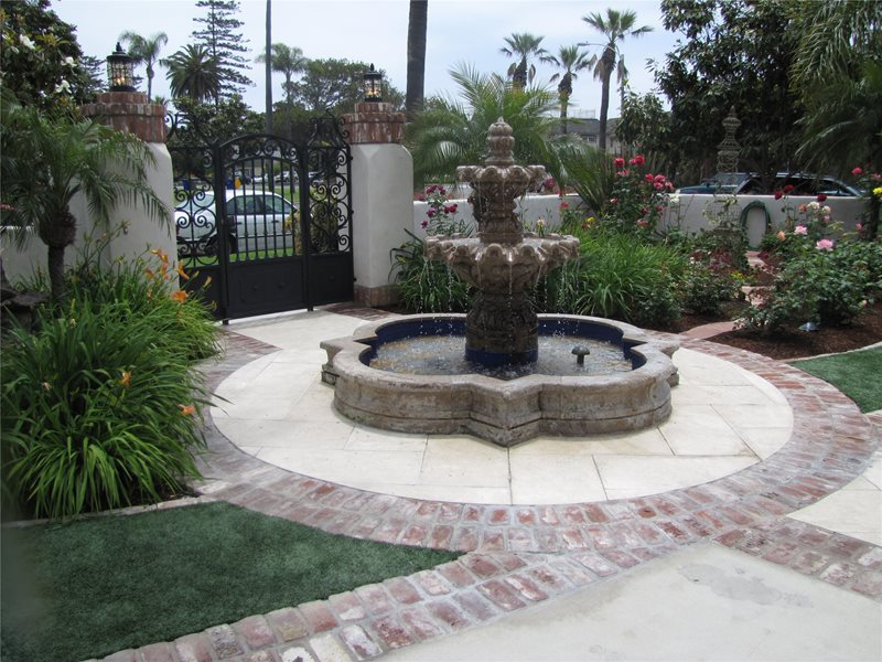 Fountain Fountain Landscaping Network Calimesa, CA