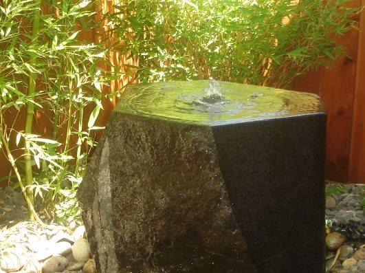 Granite Fountain Fountain Outer Space Landscape Architecture San Francisco, CA
