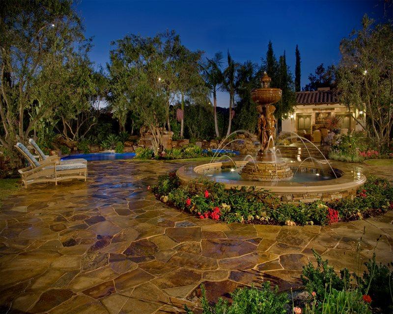 Mediterranean Fountain, Fountain Jets Fountain Alderete Pools Inc. San Clemente, CA