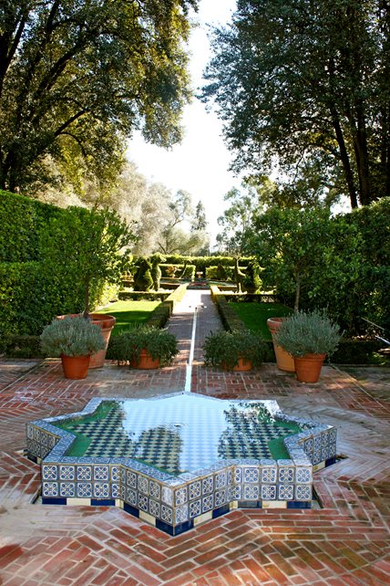 Red Brick, Brick Paving, Brick Design Fountain Landscaping Network Calimesa, CA