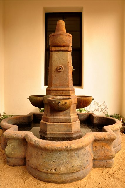 Spanish, Fountain Fountain The Green Scene Chatsworth, CA