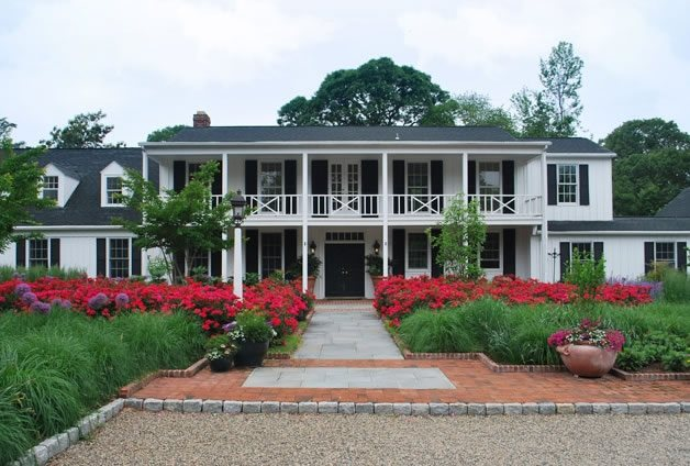 Beautiful Front Yard, Front Yard Garden Front Yard Landscaping Walnut Hill Landscape Company Annapolis, MD