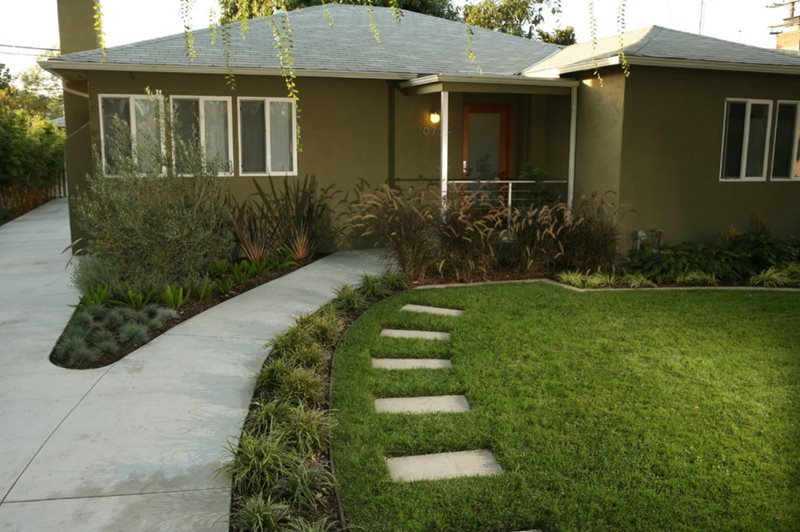 front yard landscaping - solvang  ca - photo gallery