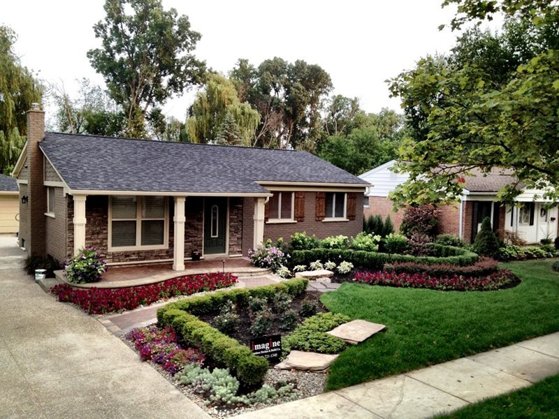 Front Yard Landscaping Northville Mi Photo Gallery Landscaping Network