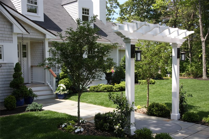 Front Yard Landscaping Centerville MA Photo Gallery