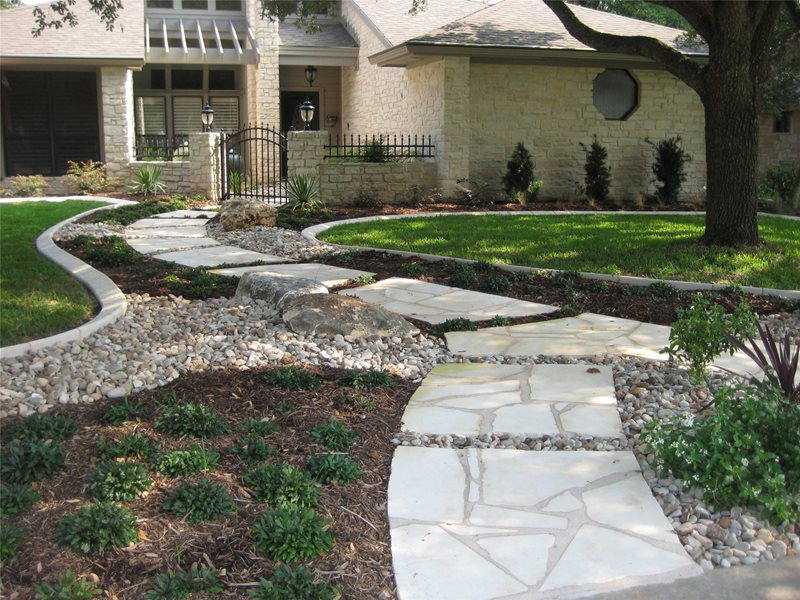 Front Yard Landscaping Cedar Park Tx Photo Gallery