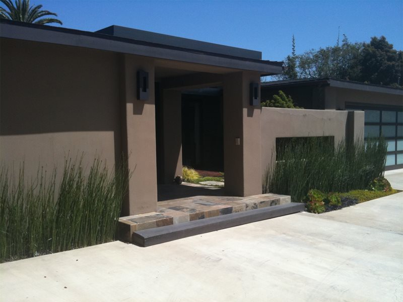 Modern Yard Front Yard Landscaping Landscaping Network Calimesa, CA