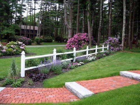 Charmant Brick Walkway Design Garden Design Natureu0027s Palette Landscape Designs  Duxbury, ...