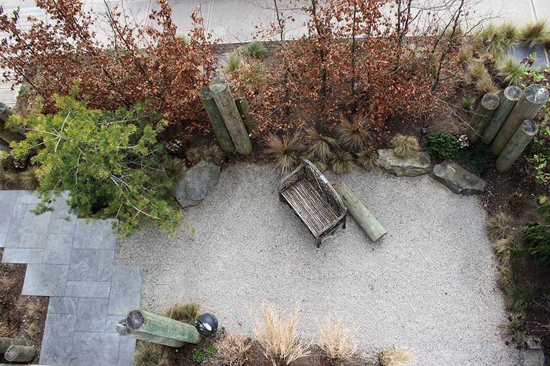 Gravel Garden, Modern Garden Garden Design Green Elevations North Vancouver, British Columbia