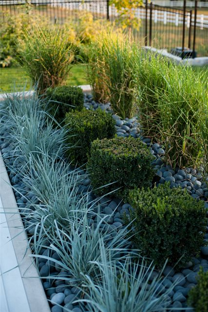Mass Plantings Garden Design Ag-Trac Enterprises Logan, UT