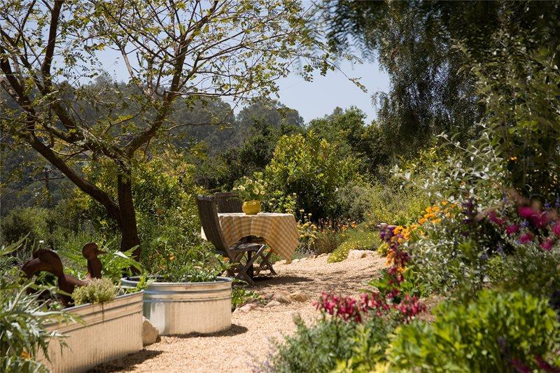 Stock Tank Planters Garden Design Grace Design Associates Santa Barbara, CA