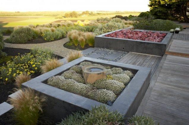 Succulent Planters, Succulent Landscaping Garden Design Jeffrey Gordon Smith Landscape Architecture Los Osos, CA