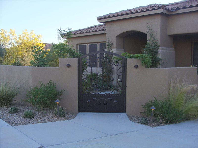 Gates and Fencing Casa Serena Landscape Designs LLC Las Cruces, NM