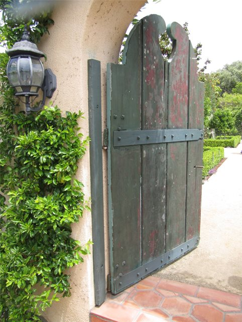 Entry Gate Gates and Fencing Landscaping Network Calimesa, CA