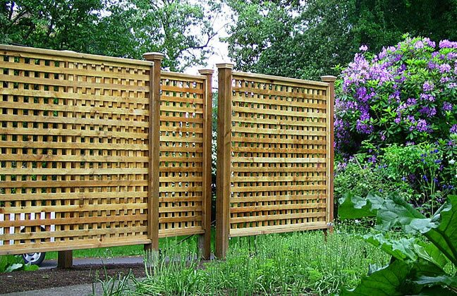 Lattice Fence Gates and Fencing Paradise Restored Landscaping Portland, OR