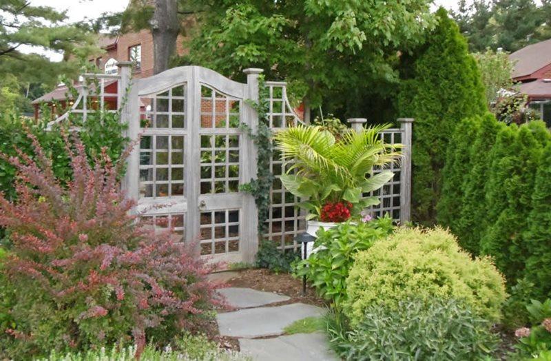 Lattice Gate, Lattice Fence Gates and Fencing Sisson Landscapes Great Falls, VA