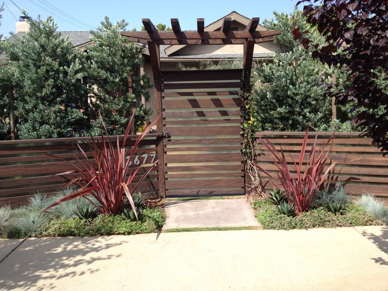 Design Fencing Gates and fencing pictures gallery landscaping network modern asian fencing gates and fencing stout design build los angeles ca workwithnaturefo