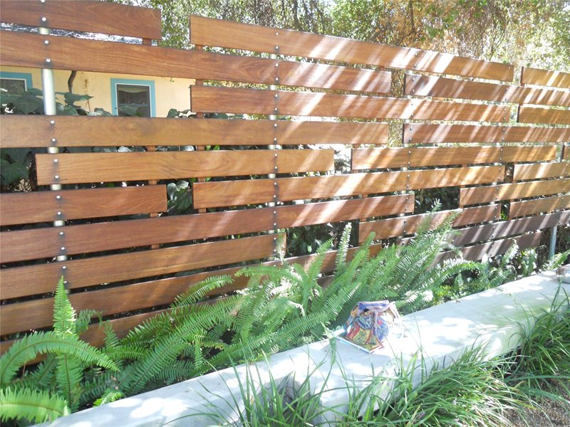 Modern Privacy Fence Gates and Fencing Landscaping Network Calimesa, CA