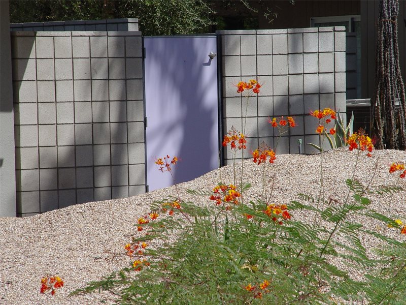 Purple Gate Gates and Fencing Maureen Gilmer Morongo Valley, CA