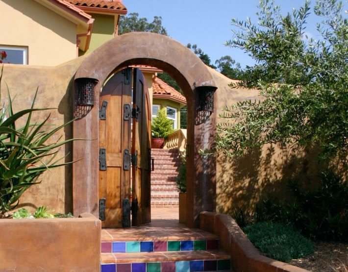 Gates and fencing santa cruz ca photo gallery for Garden design ideas in spain