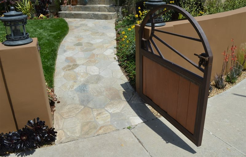 Sunburst, Gate, Small Gates and Fencing Landscaping Network Calimesa, CA