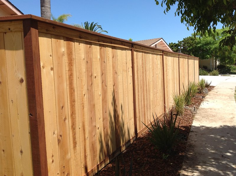 Wooden Fence, Privacy Fence Gates and Fencing Pacific Sunscapes San Diego, CA