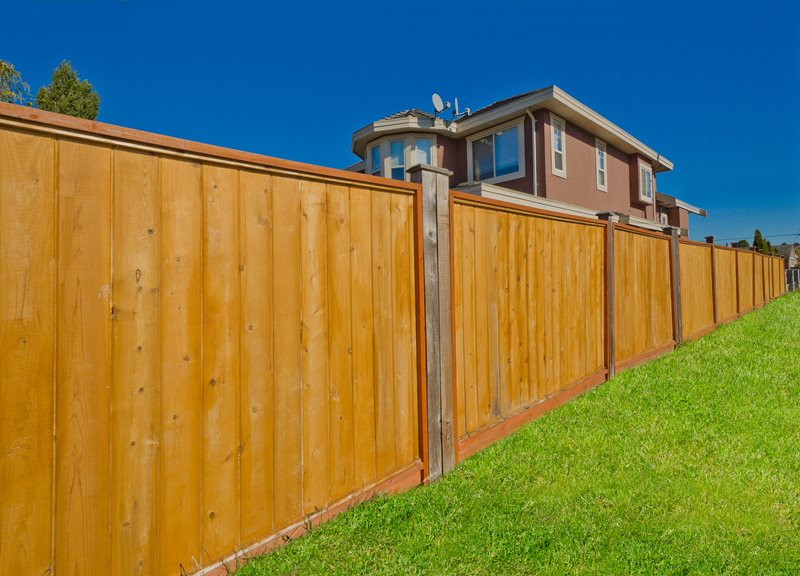 Wooden Privacy Fence, Wood Fence Panels Gates and Fencing Landscaping Network Calimesa, CA