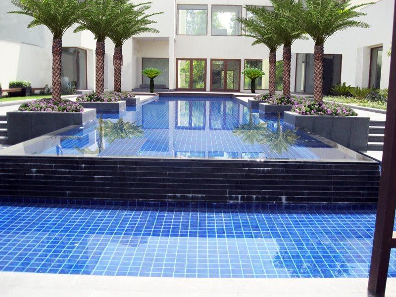 Blue, Pool, India International Landscaping Star Landscapes New Delhi,