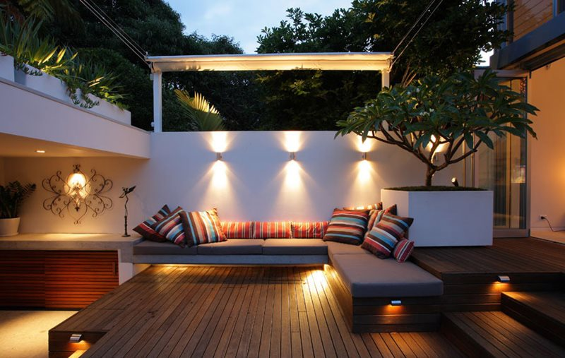 Built In Outdoor Furniture International Landscaping Secret Gardens Sydney, NSW