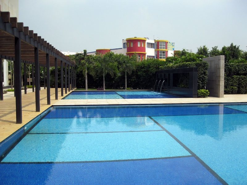 India, Swimming Pool International Landscaping Star Landscapes New Delhi,