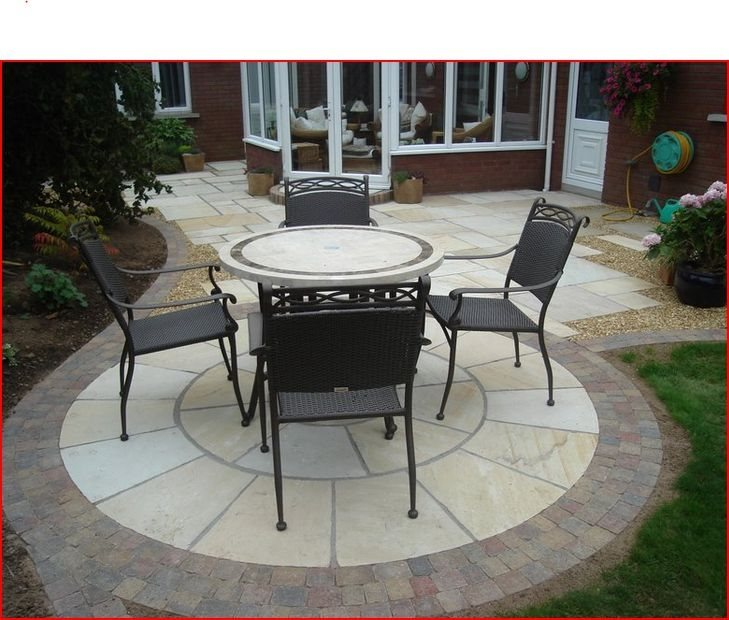 Round, Patio, Northern Ireland International Landscaping Whitethorn Landscaping Portadown,