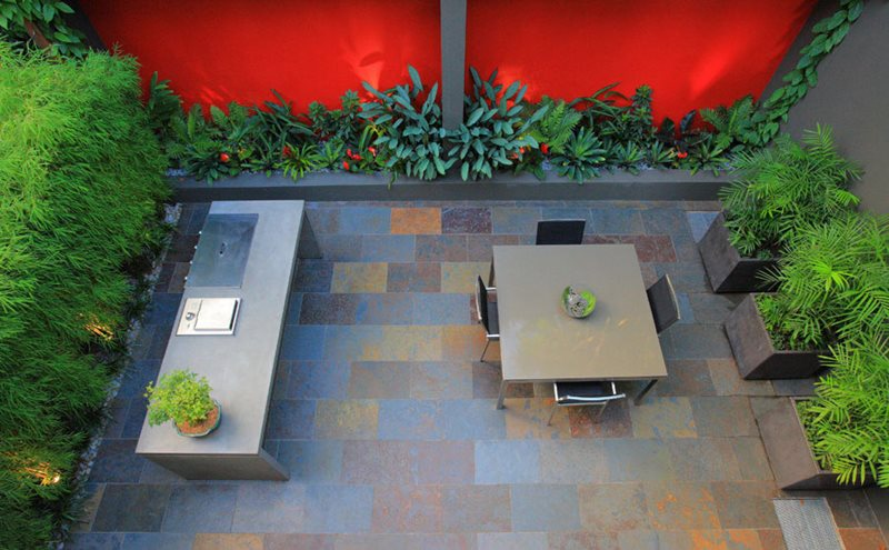 Small Courtyard Design International Landscaping Secret Gardens Sydney, NSW