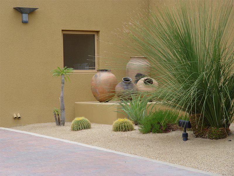 Clearance Lawnless Landscaping Maureen Gilmer Morongo Valley, CA