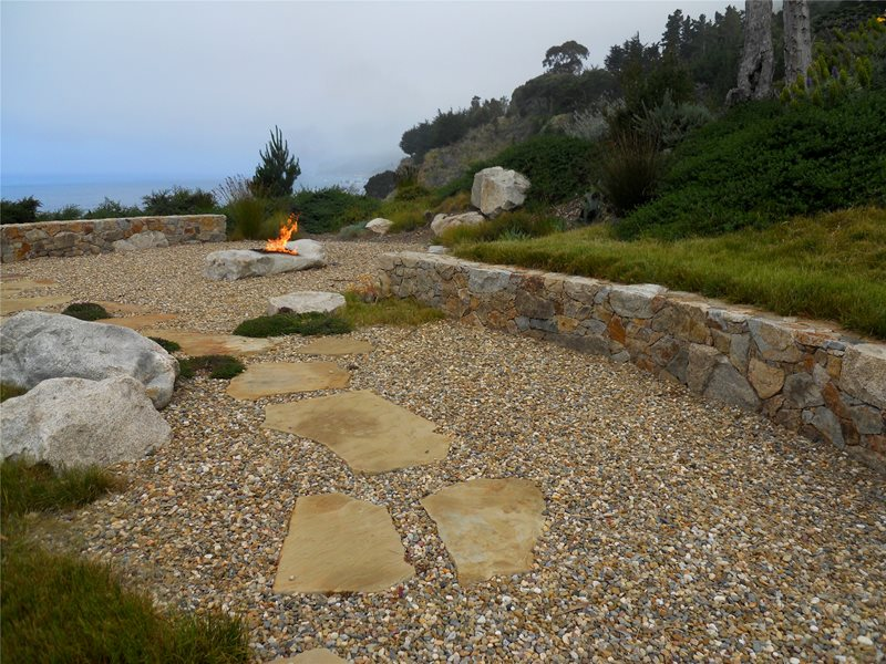 Fire Pit Lawnless Landscaping Landscaping Network Calimesa, CA