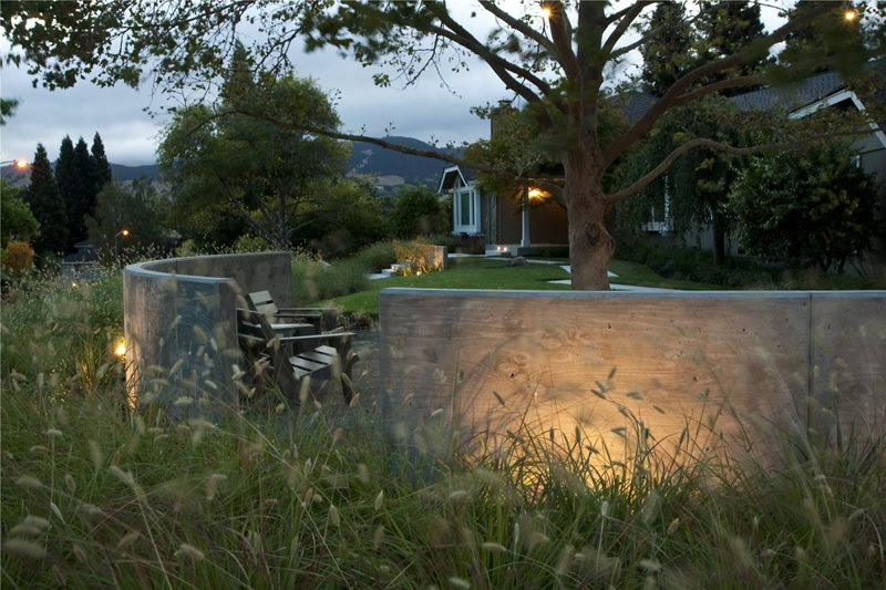 Outdoor Lighting Lighting Shades of Green Landscape Architecture Sausalito, CA