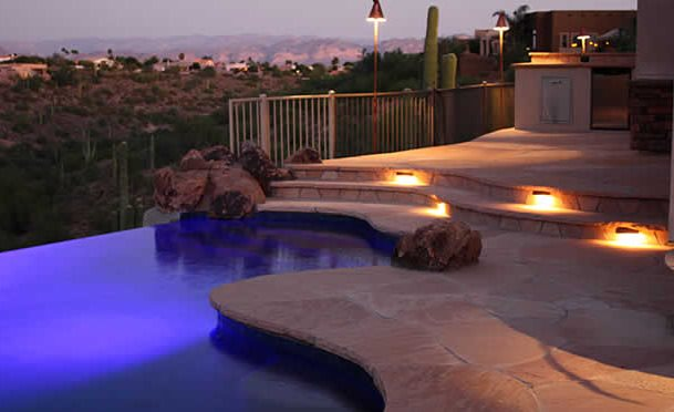 Outdoor Step Lights Lighting Alexon Design Group Gilbert, AZ