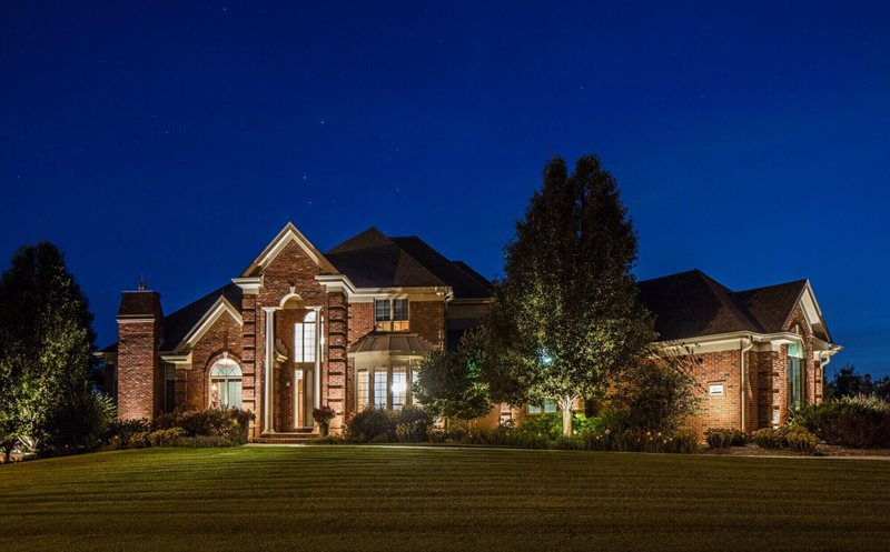 Residential Outdoor Lighting, Exterior Lighting Lighting McKay Landscape Lighting Omaha, NE