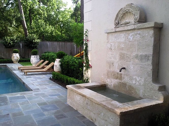 Flagstone Fire Pit Ideas Backyard