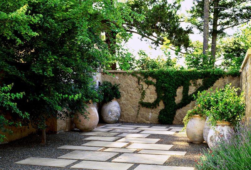 Mediterranean landscaping san fransisco ca photo for Roman garden designs