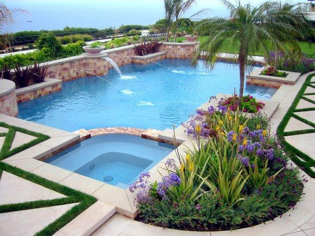 Mediterranean Pool Huntington Beach Ca Photo Gallery Landscaping Network