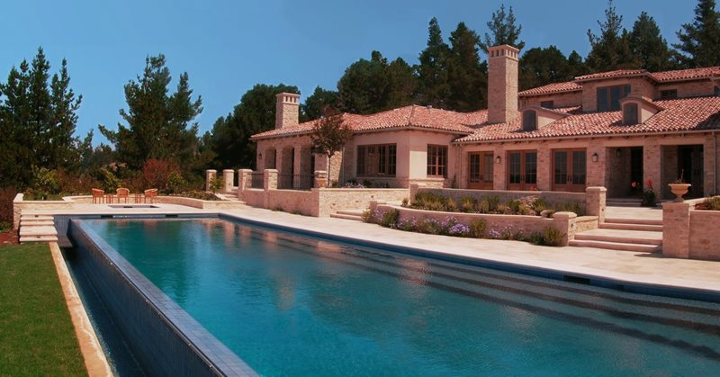 Mediterranean Pool Suzman Design Associates San Francisco, CA