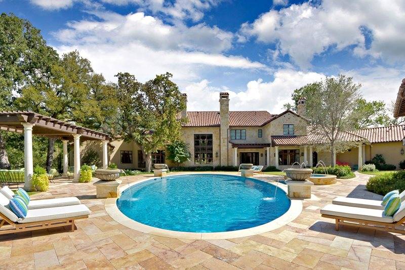 Mediterranean Pool - Carrollton  Tx - Photo Gallery
