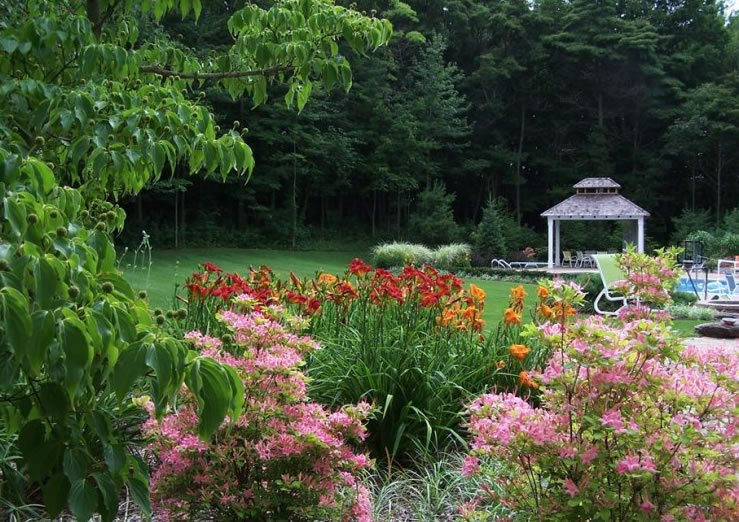 Backyard Plants, Pergola Midwest Landscaping Blue Ridge Landscaping Holland, MI