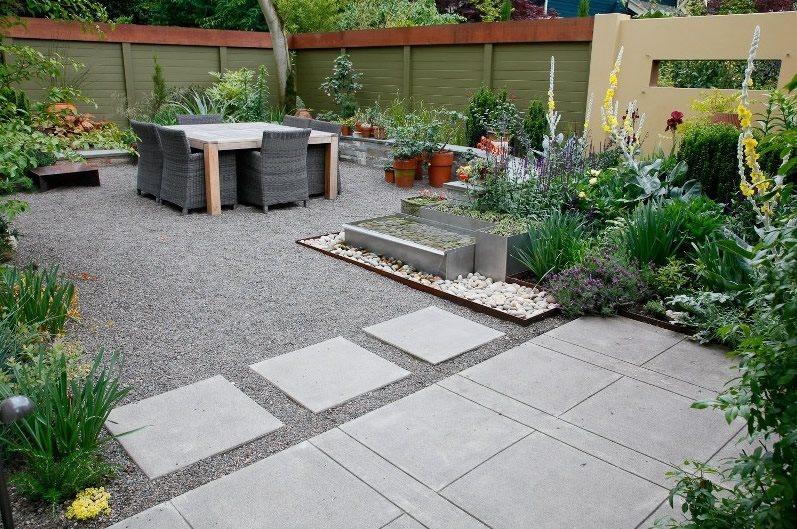 Modern Landscaping - Hillsboro, OR - Photo Gallery ... on Backyard Hardscape Ideas id=41737