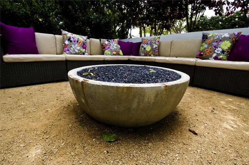 Fire Pit Modern Landscaping Landscaping Network Calimesa, CA