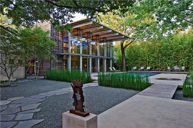 Modern landscaping dallas tx photo gallery for Garden design landscaping dallas tx