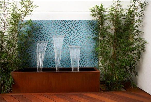 Tile Fountain Modern Landscaping Jeffrey Gordon Smith Landscape Architecture Los Osos, CA