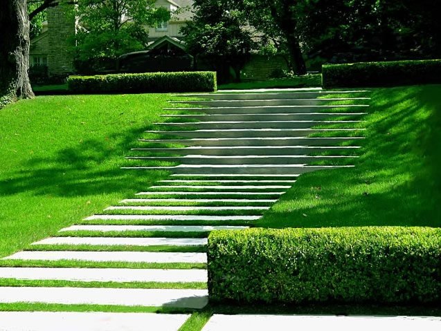 Modern landscaping austin tx photo gallery for Find local garden designers