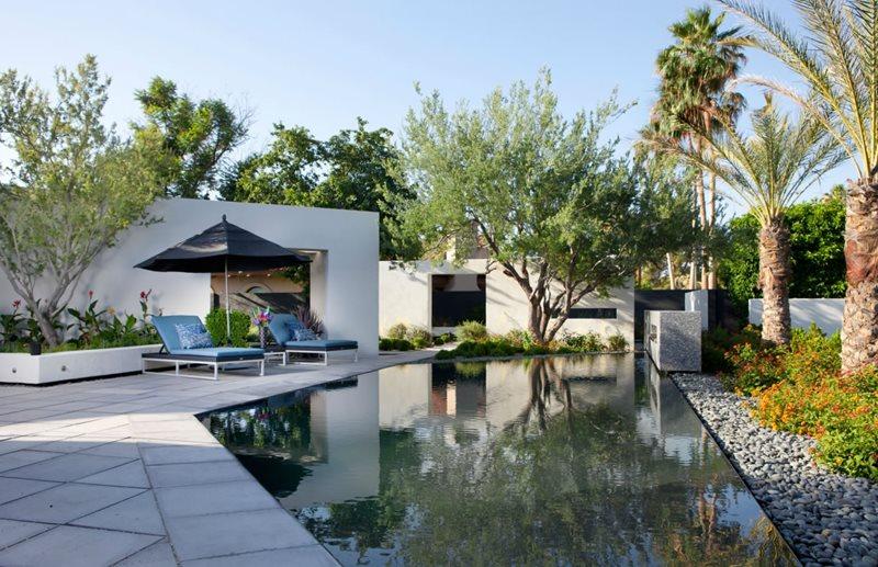 Modern pool scottsdale az photo gallery landscaping for Pool design phoenix